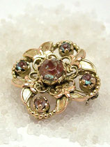 [Sold Out]サフィレットフラワーブローチ Brooch-NO8