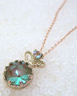 [Sold Out]王冠爪サフィレットネックレス Necklace-NO50