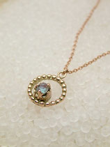 [Sold Out]サフィレットサークルネックレス Necklace-NO43