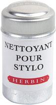 6 cartouches d'encre Herbin - Nettoyant pour stylo