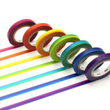 Masking-tapes fins Rainbow - MT