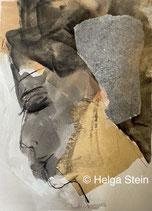 Am 10.06. von 18-21 Uhr: Portrait (abstrahiert) mit Tusche
