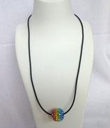 Bandkette regenbogenfarbig