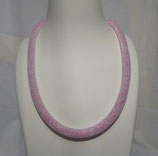 Schlauchkette rosa/weiß