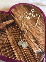 Echtgold Halskette GIPFEL & SEE