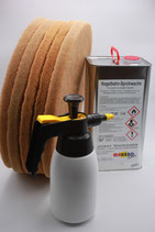 BAHNPFLEGE-SET II für  Kugellaufflächen aus Epoxidharz bzw. Plattenwerkstoffen