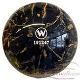 WINNER Vollkugel 160 mm in Schwarz-Cappuccino (marmoriert)