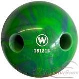 WINNER Lochkugel 160 mm Blau-Grün marmoriert
