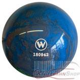 WINNER Vollkugel 160 mm in Blau-Grau (marmoriert)