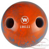 WINNER Lochkugel 160 mm in Blau-Orange