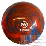 WINNER Vollkugel 160 mm in Blau-Orange (marmoriert)