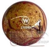 WINNER Vollkugel 160 mm in schwarz/rot/gold (marmoriert)