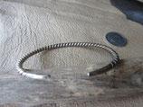 純銀製 カレン族 シルバーバングル silver Bangle 12.3g   BN25