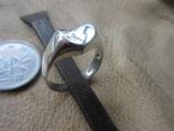 Silver925  Ring  純銀・指輪   ハート   16 号    5g    n606