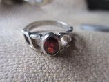 商品名Silver925  Ring  純銀・指輪  ガーネット   9号    2.4g    n625