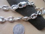 イタリア製 Silver925 純銀 45cm 35.6g HollowM150 n354