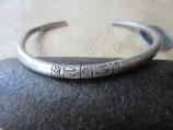 純銀製 カレン族 シルバーバングル silver Bangle 17.9g   BN24