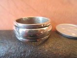 Silver925  二重リング・純銀指輪  23号 12.1g    n560