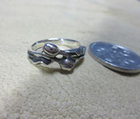 Silver925  Ring  純銀・指輪 チューリップ      11号    2.7g    n622