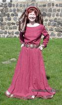 Kleid mit schmalen Ärmeln