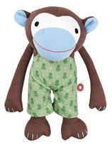Kuscheltier Affe Frederik - grüne Hose