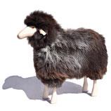 Schafe in Lebensgröße / grau-braunes Fell / Buche natur