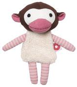 Kuscheltier Affe Trisse - pink
