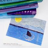 postcard a6 shark