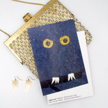 postcard a6 night owl