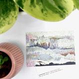 postcard a6 winterland