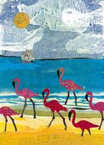 Giftcard A6 Flamingo's