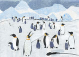 giftcard A6 pinguins