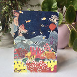postcard A6       coral reef