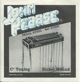 John Pearse Pedal Steel Gitarre Set 7200
