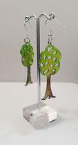 Ohrringe Baum 2