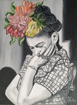 """Always flowers""   Frida Kahlo"