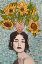 """Keira Knightley   """"Sunflowers for live"""""""