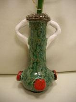 Keramikvase Grün-Antik