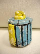 Dose Blau-Gelb