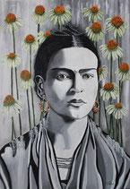 Blumenverbunden  Frida Kahlo