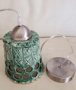 Lampe Flaschengrün