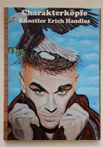 A4 Buch Bilderserie Charakterköpfe Künstler Erich Handlos