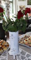 Vase vintage Blumen