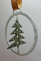 Baumanhänger Baum im Kreis 3D