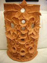 Keramikmaske flowers