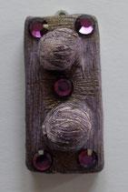 Keramikanhänger Violett
