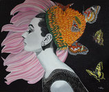 flowerhead  Audrey Hepburn