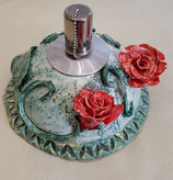 Keramiköllampe Rosen