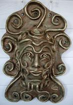 """Wandkeramikmaske """"artman"""""""