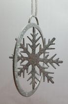 Baumanhänger Kristall im Kreis 3D